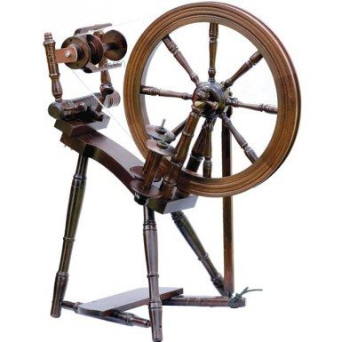 Kromski Prelude Spinning Wheel Walnut - 3