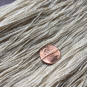 Paradise Fibers Undyed Yarn Paradise Fibers Undyed Mulberry Silk Lace Weight Yarn 20/2  - 4