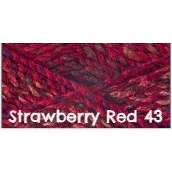 James C. Brett Marble Chunky Yarn Strawberry Red 43 - 28