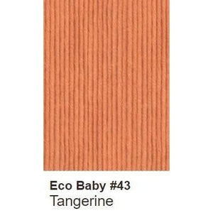 Debbie Bliss Eco Baby Yarn - Solids Tangerine 43 - 12