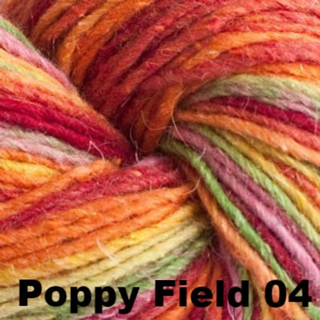 Cascade Casablanca Yarn Poppy Field 04 - 4
