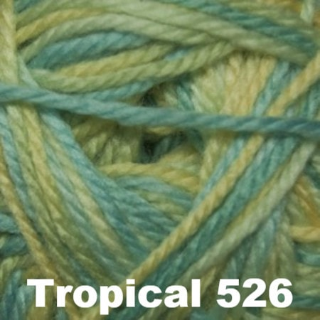 Cascade Cherub Aran yarn Tropical 526 - 11
