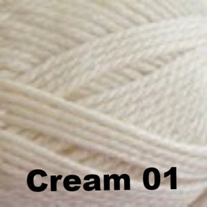 Paradise Fibers Clearance Cascade Pacific Chunky Yarn Cream 01 - 8