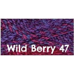 James C. Brett Marble Chunky Yarn-Yarn-Wild Berry 47-