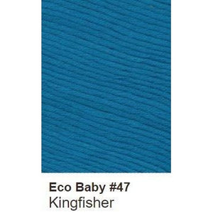 Debbie Bliss Eco Baby Yarn - Solids Kingfisher 47 - 15