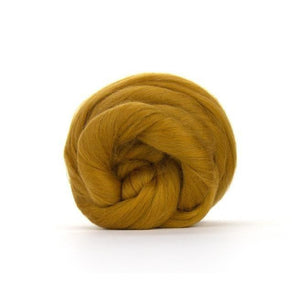 Paradise Fibers Solid Colored Merino Wool Top - Antique