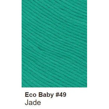 Debbie Bliss Eco Baby Yarn - Solids Jade 49 - 17