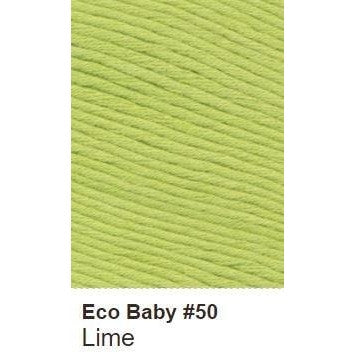 Debbie Bliss Eco Baby Yarn - Solids Lime 50 - 18