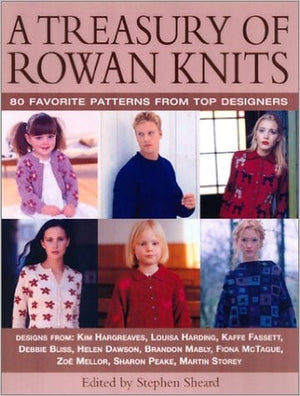A Treasury of Rowan Knits: 80 Favorite Patterns from Top Designers-Publications-