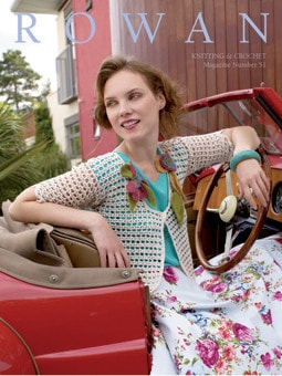 Rowan Knitting & Crochet Magazine Pattern Book #51-Patterns-