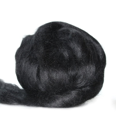 Louet Black Alpaca Super Top (1/2 lb bag)