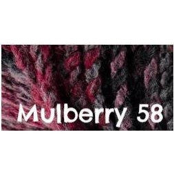 James C. Brett Marble Chunky Yarn Mulberry 58 - 43