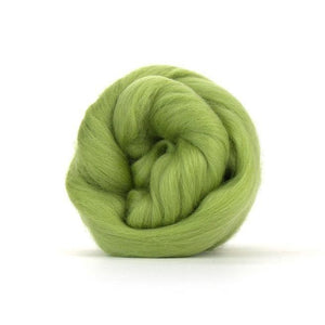 Paradise Fibers Solid Colored Merino Wool Top - Sage-Fiber-4oz-