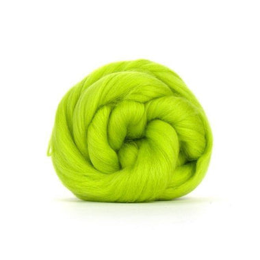 Paradise Fibers Solid Colored Merino Wool Top - Citrus