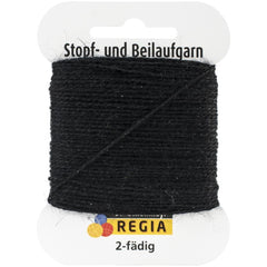 Regia Darning Thread Black - 2