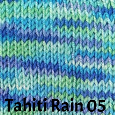 Ella Rae Cozy Soft Prints Yarn Tahiti Rain 05 - 6