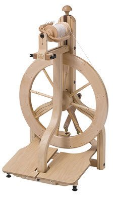 Schacht Matchless Double Treadle Spinning Wheel
