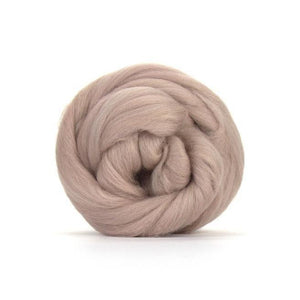 Paradise Fibers Solid Colored Merino Wool Top - Mink-Fiber-4oz-