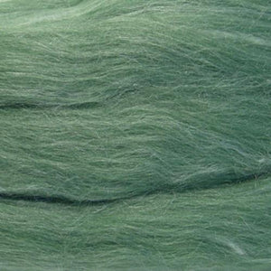Artfelt In Silk Solid Colored Merino/Silk Standard Rovings-Fiber-6051 Parsley-