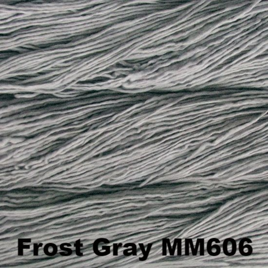 Malabrigo Worsted Yarn Semi-Solids Frost Gray MM606 - 90