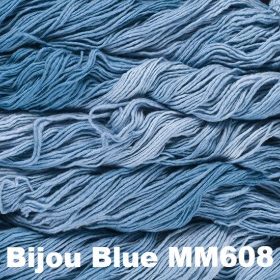 Malabrigo Worsted Yarn Semi-Solids Bijou Blue MM608 - 53