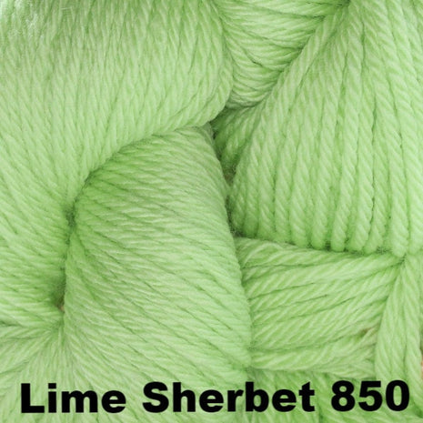 Cascade 220 Superwash Sport Yarn Lime Sherbet 850 - 14
