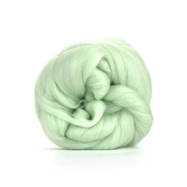 Paradise Fibers Solid Colored Merino Wool Top - Peppermint