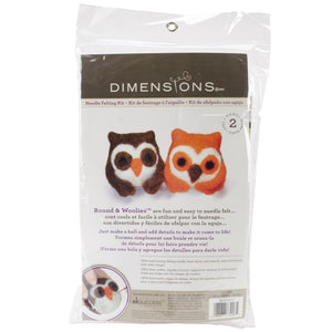Feltworks Needle Felting Kit - Owls - DISC-Needle Felting Kit-
