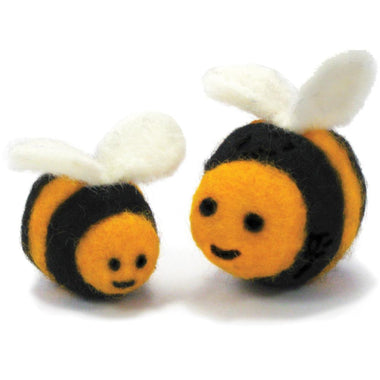 Feltworks Needle Felting Kit - Bees-Kits-Paradise Fibers