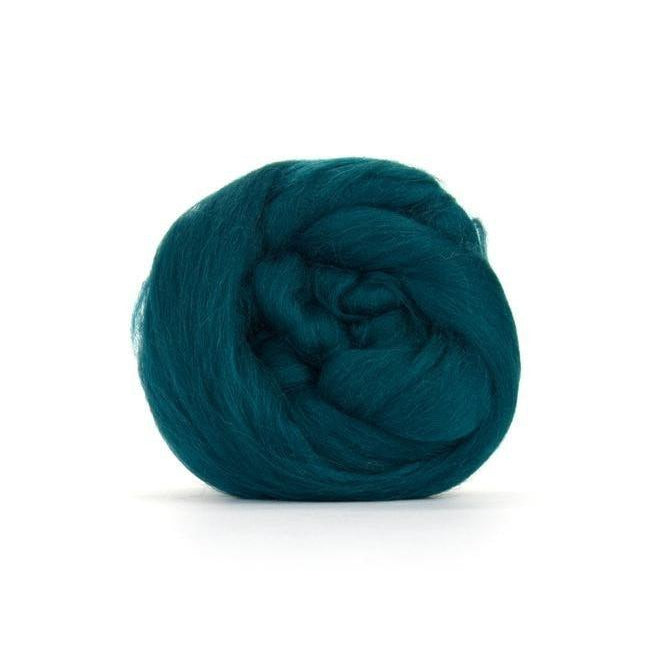 Paradise Fibers Solid Colored Merino Wool Top - Mallard