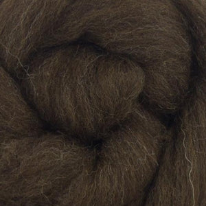 Paradise Fibers Natural Brown Merino Top
