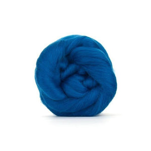 Paradise Fibers Solid Colored Merino Wool Top - Aquamarine