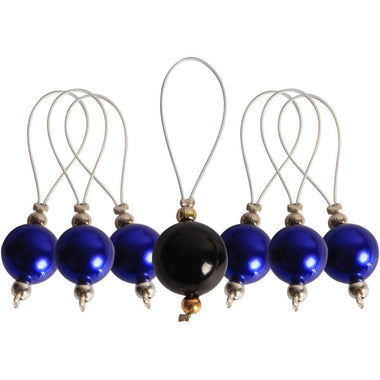 Knitter's Pride Zooni Stitch Markers with Colored Beads - 7 Pack