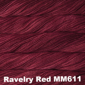 Malabrigo Worsted Yarn Semi-Solids-Yarn-Ravelry Red MM611-