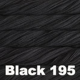 Malabrigo Rastita Yarn Black 195 - 6