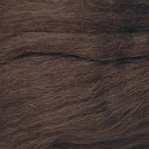 Artfelt In Silk Solid Colored Merino/Silk Standard Rovings-Fiber-7873 Brown Heather-