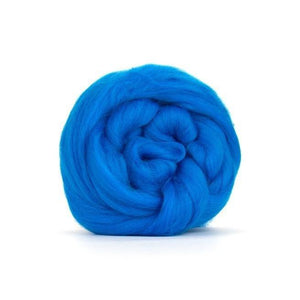 Paradise Fibers Solid Colored Merino Wool Top - Mediterranean-Fiber-4oz-