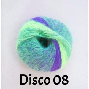 Conway+Bliss Elektra Yarn Disco 08 - 10