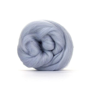 Paradise Fibers Solid Colored Merino Wool Top - Seal-Fiber-4oz-