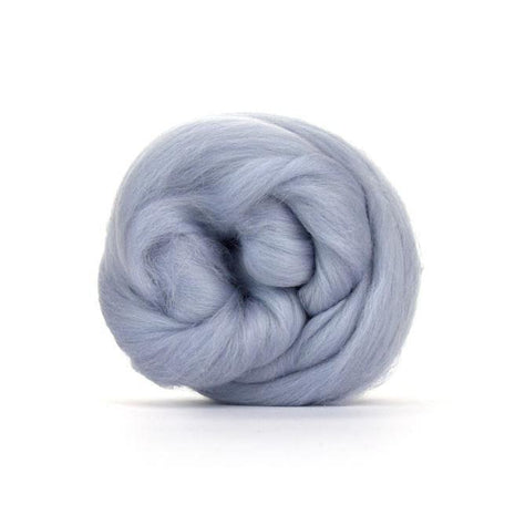 Paradise Fibers Solid Colored Merino Wool Top - Seal