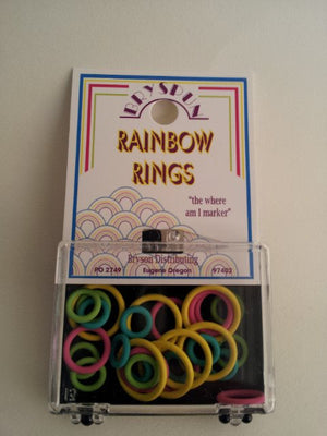 Bryspun Rainbow Ring Stitch Markers