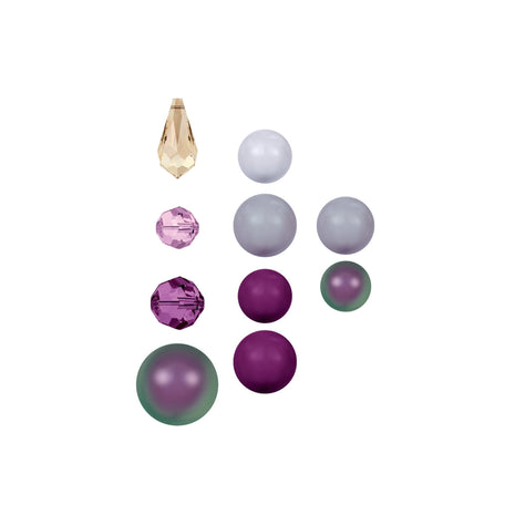 Swarovski & Rowan Create Your Own Style Classic Crystal Beads 8-16mm Mixed / Amethyst - 11