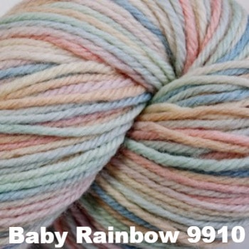 Cascade 220 Superwash Paints Yarn Baby Rainbow 9910 - 3