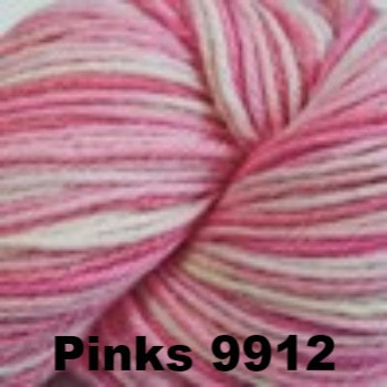 Cascade 220 Superwash Paints Yarn Pinks 9912 - 16