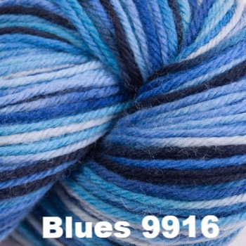 Cascade 220 Superwash Paints Yarn Blues 9916 - 20