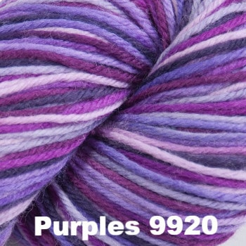 Cascade 220 Superwash Paints Yarn Purples 9920 - 6