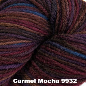 Cascade 220 Superwash Paints Yarn Carmel Mocha 9932 - 2