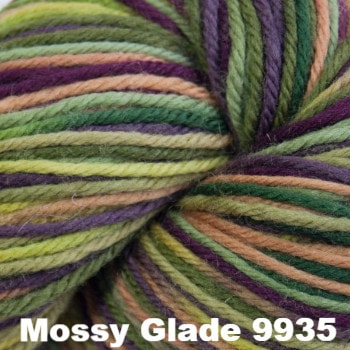 Cascade 220 Superwash Paints Yarn Mossy Glade 9935 - 5