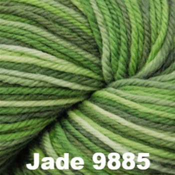 Cascade 220 Superwash Paints Yarn Jade 9885 - 8