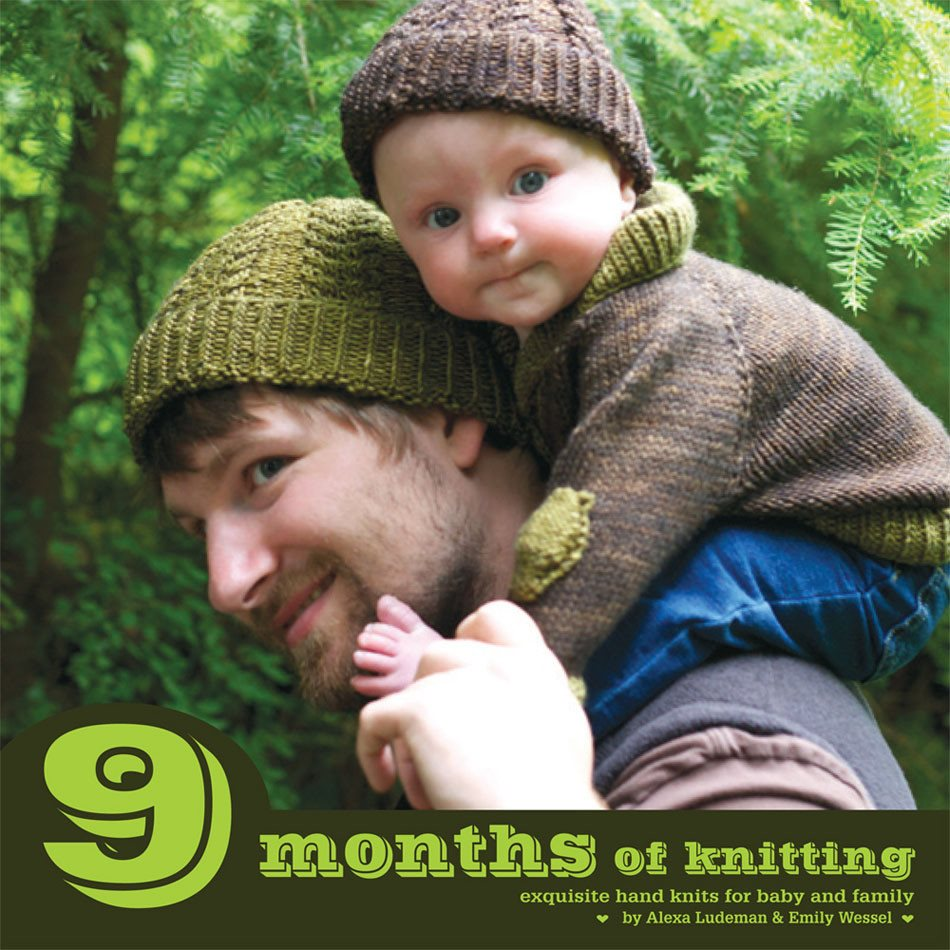 9 Months of Knitting: Exquisite Knits for Baby and Family Book  - 1